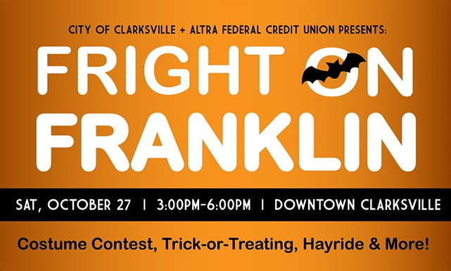 Clarksville Tennessee Fright on Franklin Halloween Event
