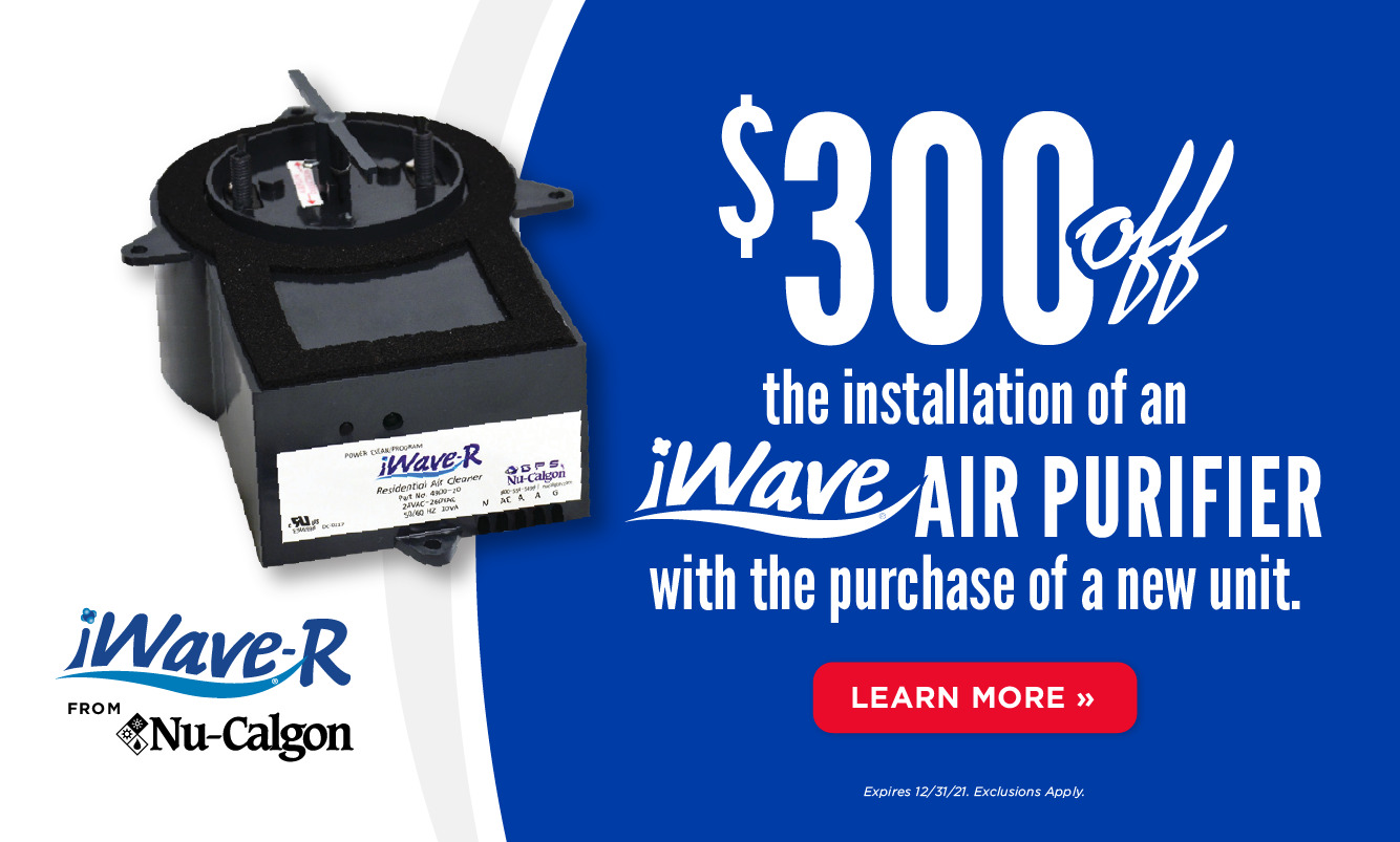 $300 Off iWave Air Purifier